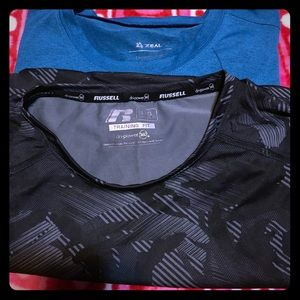 Men's work out shirts Zeal&Russel